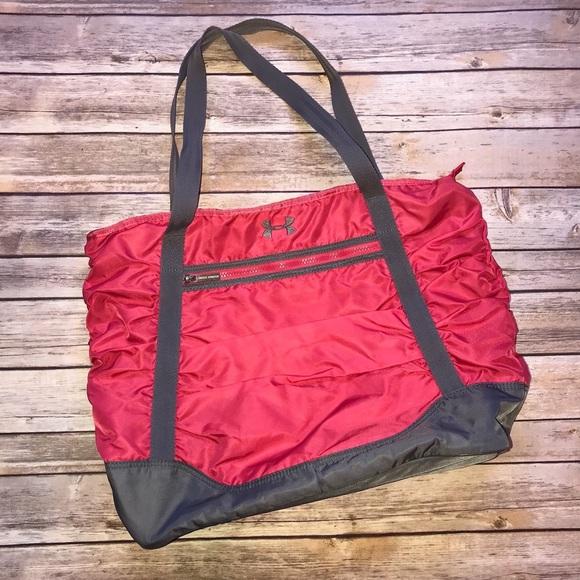 Under Armour Bags   Nylon Shoulder Bag Book Bag Laptop   Poshmark 6a4d8aaa5b